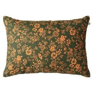 Chhatwal & Jonsson Flower Tyyny Green / Jaffa Orange 40x60 Cm