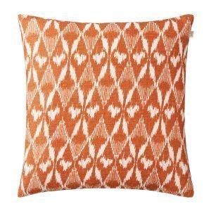 Chhatwal & Jonsson Ikat Gangtok Tyynynpäällinen Oranssi 50x50 Cm