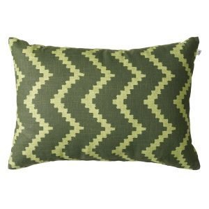 Chhatwal & Jonsson Ikat Sema Tyyny Green / Cactus Green 40x60 Cm