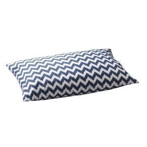 Chhatwal & Jonsson Ikat Zigzag Tyynynpäällinen Sininen 50x90 Cm 2 Kpl