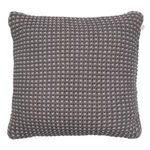 Chhatwal & Jonsson Knitted Chand Tyynynpäällinen Harmaa 50x50 Cm