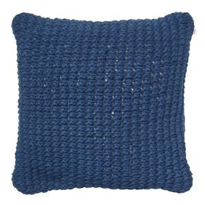 Chhatwal & Jonsson Knitted Hema Tyynynpäällinen Sininen 60x60 Cm