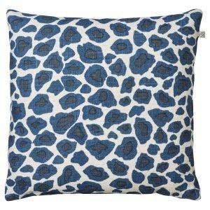 Chhatwal & Jonsson Leopard Tyynynpäällinen Ruskea / Sininen