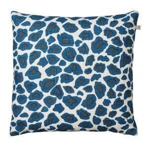 Chhatwal & Jonsson Leopard Tyynynpäällinen Sininen 50x50 Cm