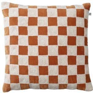 Chhatwal & Jonsson Mysore Tyynynpäällinen Orange / Valkoinen