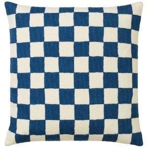 Chhatwal & Jonsson Mysore Tyynynpäällinen Sininen / Valkoinen