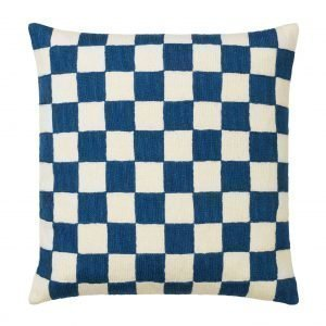 Chhatwal & Jonsson Mysore Tyynynpäällinen Sininen / Valkoinen 50x50 Cm