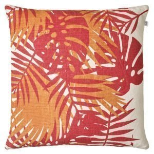 Chhatwal & Jonsson Palm Tyynynpäällinen Red / Jaffa Orange 50x50 Cm