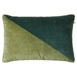 Chhatwal & Jonsson Pari Velvet Tyynynpäällinen Cactus / Green 40x60 Cm