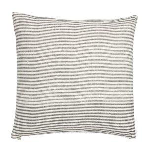 Chhatwal & Jonsson Stripe Tyynynpäällinen Harmaa / Valkoinen 50x50 Cm