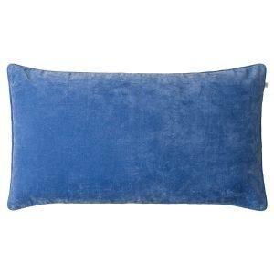 Chhatwal & Jonsson Veda Velvet Tyynynpäällinen Riviera Blue 50x90 Cm