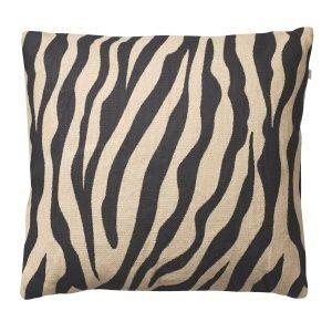 Chhatwal & Jonsson Zebra Tyynynpäällinen Beige / Musta 50x50 Cm