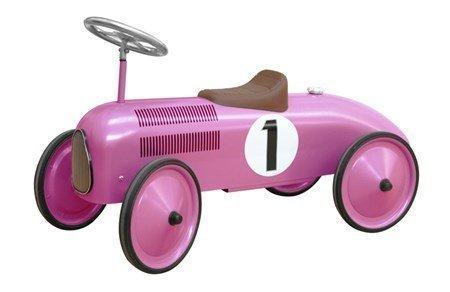 Classic metal racer pinkki