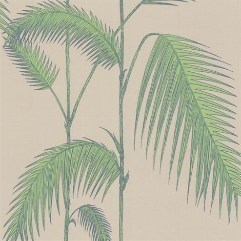 Cole & Son Palm Leaves Tapetti Vaaleanpunainen