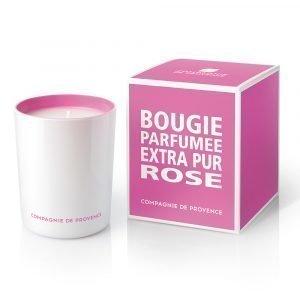 Compagnie De Provence Extra Pur Tuoksukynttilä Ruusu 40h
