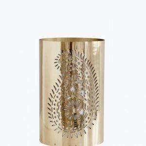 Day Home Paisley Pierced Lantern Kynttilälyhty