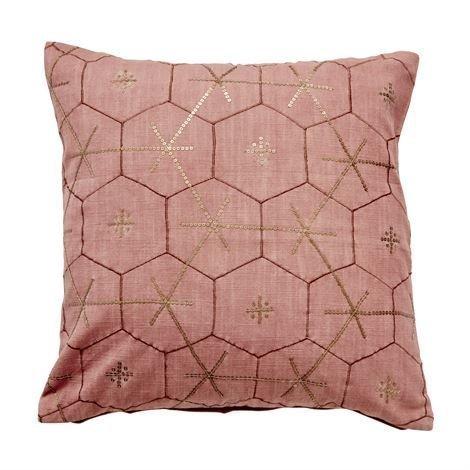 Day Home Sixta Tyynynpäällinen Decay Vaaleanpunainen 50x50 cm