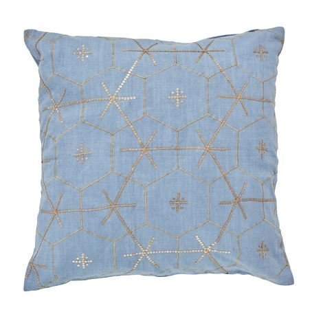Day Home Sixta Tyynynpäällinen Winterlake Sininen 50x50 cm