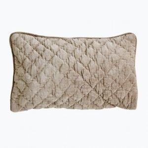 Day Home Velvet Quilted Tyynynpäällinen