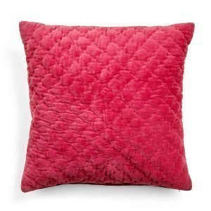 Day Home Velvet Quilted Tyynynpäällinen X Mas Kiss 50x50 Cm