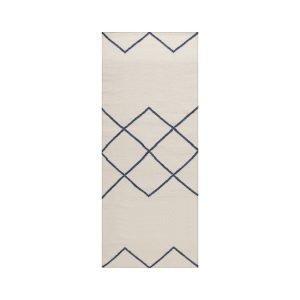 Decotique Geometrie 03 Matto Offwhite / Sininen 80x200 Cm