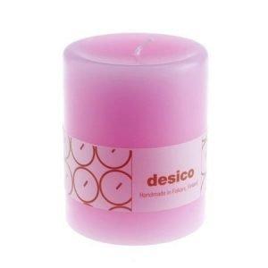 Desico Pöytäkynttilä 10 cm pinkki 6 kpl