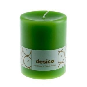 Desico Pöytäkynttilä 10 cm vaaleanvihreä 6 kpl