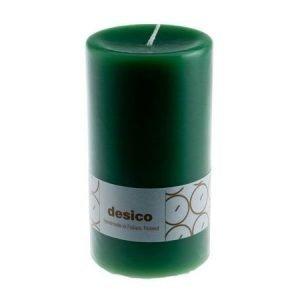Desico Pöytäkynttilä 14 cm vihreä 3 kpl