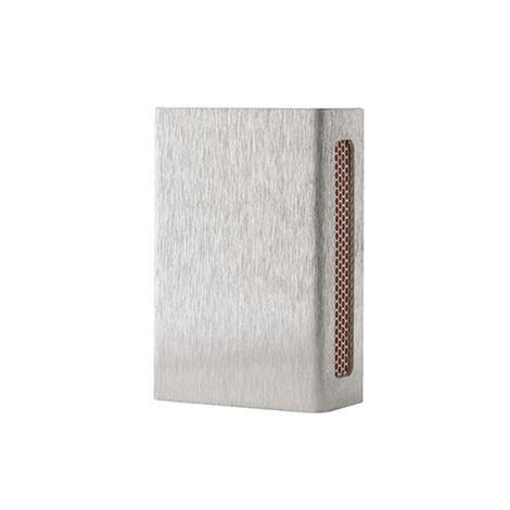 Design: Kristina Stark Match Case Plain Mini Ruostumaton Teräs