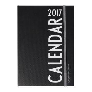 Design Letters Aj A5 Kalenteri 2017