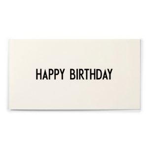 Design Letters Aj Onnittelukortti Happy Birthday