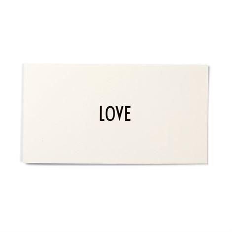 Design Letters Aj Vintage Abc Kortti Love
