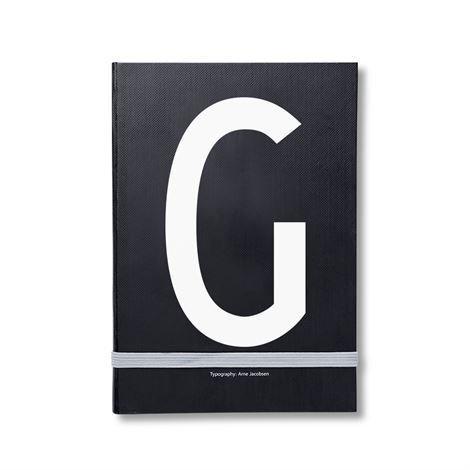 Design Letters Henkilökohtainen Muistikirja G