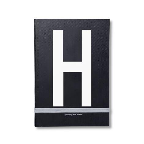 Design Letters Henkilökohtainen Muistikirja H