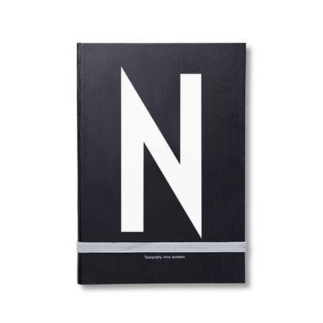 Design Letters Henkilökohtainen Muistikirja N