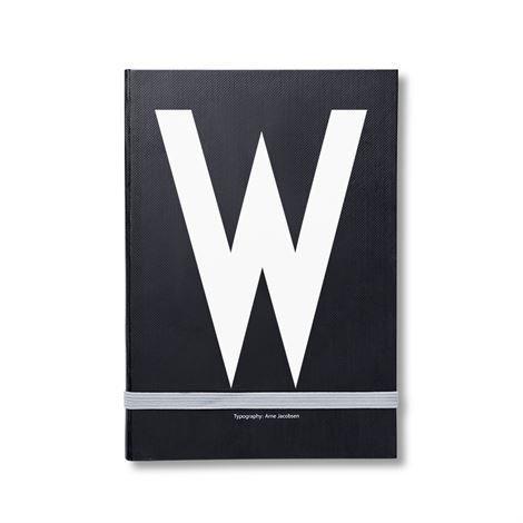 Design Letters Henkilökohtainen Muistikirja W