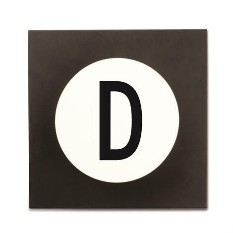 Design Letters Hook2 Kirjainkoukku D