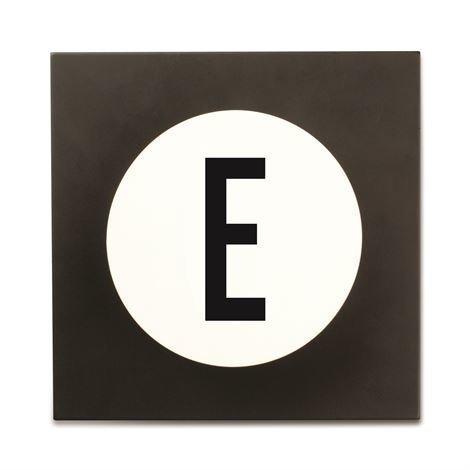 Design Letters Hook2 Kirjainkoukku E