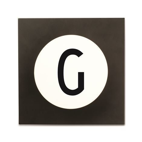 Design Letters Hook2 Kirjainkoukku G