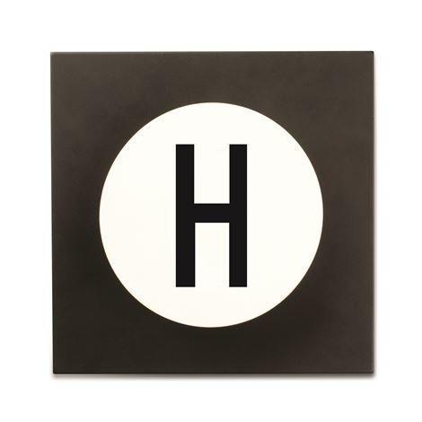 Design Letters Hook2 Kirjainkoukku H