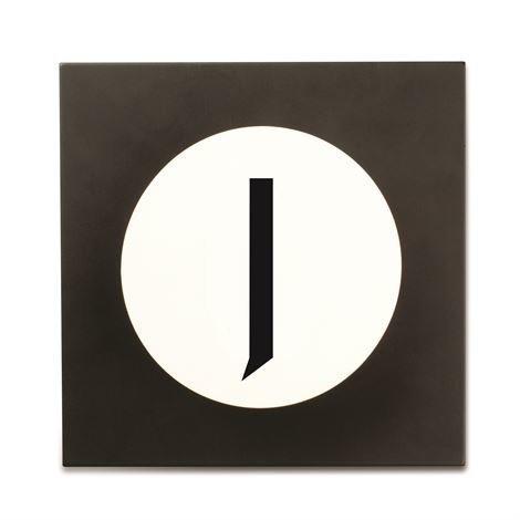 Design Letters Hook2 Kirjainkoukku J