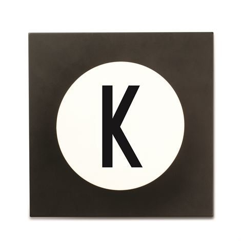 Design Letters Hook2 Kirjainkoukku K