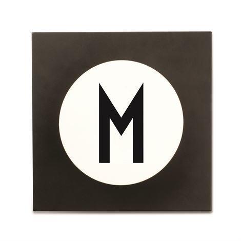 Design Letters Hook2 Kirjainkoukku M
