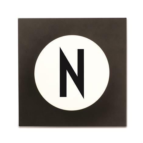 Design Letters Hook2 Kirjainkoukku N