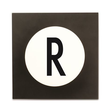 Design Letters Hook2 Kirjainkoukku R