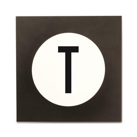 Design Letters Hook2 Kirjainkoukku T