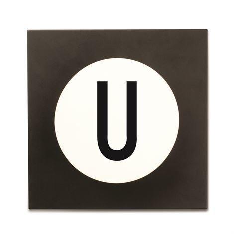 Design Letters Hook2 Kirjainkoukku U