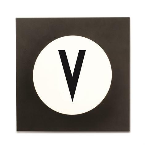 Design Letters Hook2 Kirjainkoukku V