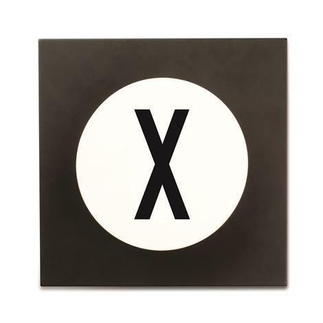Design Letters Hook2 Kirjainkoukku X