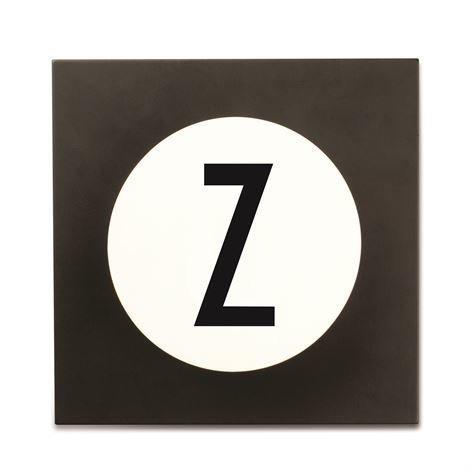 Design Letters Hook2 Kirjainkoukku Z